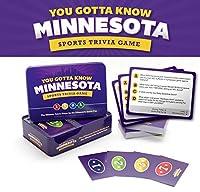 You Gotta Know Minnesota - Sports Trivia Game