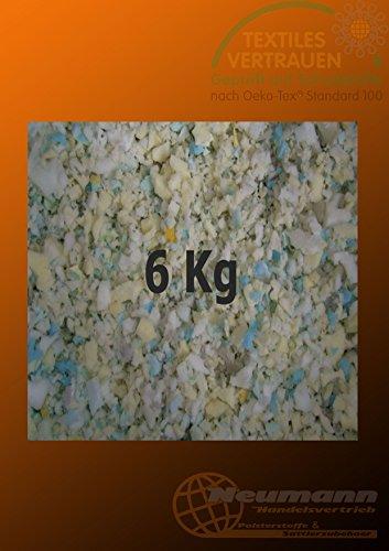 Flocons de mousse de garnissage bricolage emballage, Bunt Gemischt, 6 kg