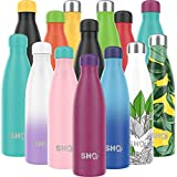 SHO Bottle - Ultimate Vacuum Insulated, Double Walled Stainless Steel Water Bottle