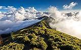Descompresión Para Adultos 1000 Piezas Camino En La Montaña Montaje De Madera Decoración Para El Hogar Juego De Juguetes Juguete Educativo Para Niños Y Adultos