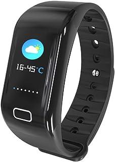 MX kingdom Reloj Inteligente, Smartwatch Impermeable IP68,Pulsera de Actividad Inteligente Pantalla a Color,Rastreador de Actividad GPS/Monitor de frecuencia Cardiaca Fitness Podómetro Android iOS