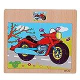Pinhan en Bois Puzzle Jigsaw Éducation Précoces Maternelle Puzzle Puzzle Enfants en...