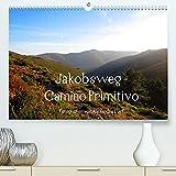 Jakobsweg - Camino Primitivo (Premium, hochwertiger DIN A2 Wandkalender 2022, Kunstdruck in Hochglanz): Pilgerweg von Oviedo nach Santiago de Compostela (Monatskalender, 14 Seiten )