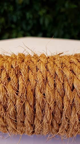 Kokosseil 7 mm – Baumanbinder aus Kokosfaser – ungefärbte Naturfaser – 50 m - 7