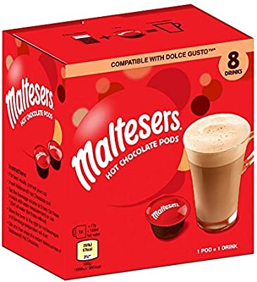 Cheap Maltesers 8 Hot Chocolate Pods Dolce Gusto