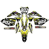 R2 MX- 2008 2009 2010 2011 2012 2013 2014 2015 2016 2017 Suzuki RMZ 450 Custom Graphics Decals- OCULUS