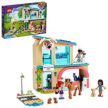 LEGO Friends Heartlake City Vet Clinic 41446 Building Kit  Animal Rescue Toy Makes a Great-Value Christmas Holiday or Birthday Gift for Kids Who Love Vet Clinic Pretend Play New 2021  258 Pieces