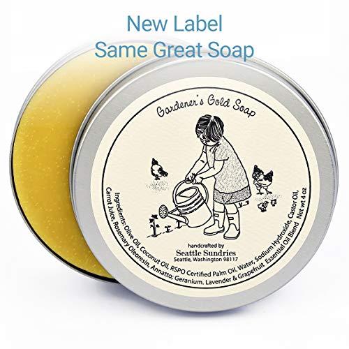 Gardener's Gold Soap