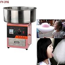 Hanchen Commerical 1 Piece Commercial Electricity Cotton Candy Machine Cotton Floss Machine (240V)