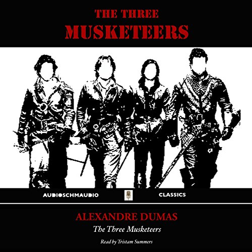 The Three Musketeers Audiobook By Alexandre Dumas cover art