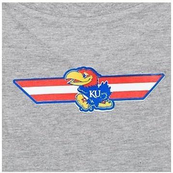 Bargain Hunter Tucson Mall Company NCAA Kansas T-Shirt Pet Jayhawks
