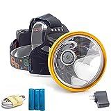 JSJJAUJ Stirnlampe Leistungsstarke LED-Scheinwerfer USB wiederaufladbare...