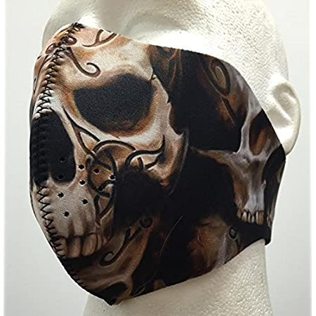 Motorcycle Snowboard Biker Neoprene Ski Snow Skull Full Face Mask Winter Warm