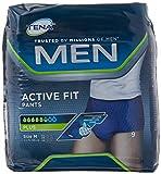 Tena, Active Fit Pants, Windelhose für Herren, Größe M, 36 (4x9) -