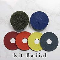 Kit radial-pulidora-lijadora (125 mm)