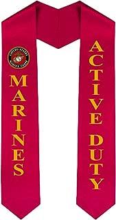 USMC (Marine Corp) Graduation Sash Stole - Active Duty