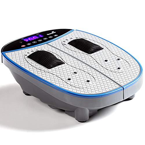 Skandika Fußmassagegerät mit Vibration Massage One | Oszillierende Vibration bis 16Hz, Akupressur-Massageköpfe, LCD- Touchdisplay, 20 Stufen, 5 Programme, inkl. Fernbedienung | Schmerzlindernd