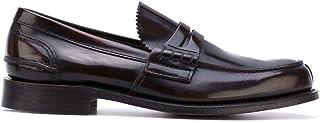 Luxury Fashion | Church's Men EDB0049LGF0AEV Brown Leather Loafers | Season Permanent