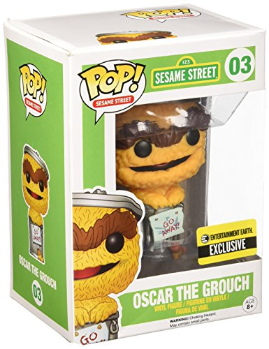 Figura Pop Barrio Sesamo: Oscar Naranja