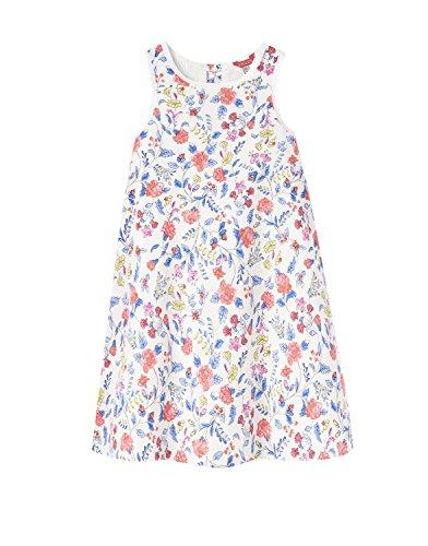 Tom Joule Kleid Creme mit Allover Blumenprint Gr. 7-8