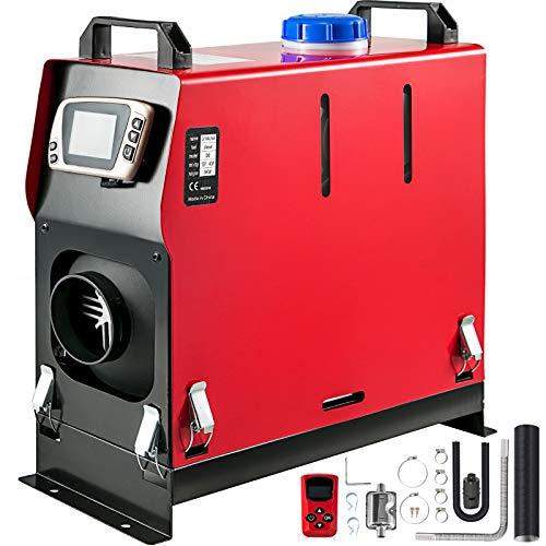 Mophorn Calentador de Aire Diesel 12V 5KW Calentador de Combustible Diesel con Interruptor LCD y 1 Salida de Aire
