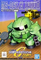 SDガンダム G-GENERATION No.17 ザクII フル装備 プラモデル