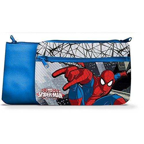 Star Licensing TOMBOLINO Spiderman PORTACOLORI 1 Cerniera Marvel CM 24X15 - 44477/2