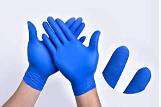 The Basic Nitrile Exam Gloves - Medical Grade, Powder Free,