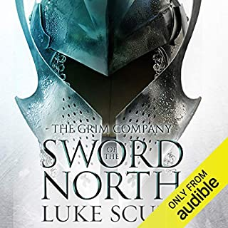 Sword of the North     The Grim Company, Book 2              By:                                                                                                                                 Luke Scull                               Narrated by:                                                                                                                                 Joe Jameson                      Length: 17 hrs and 27 mins     139 ratings     Overall 4.5