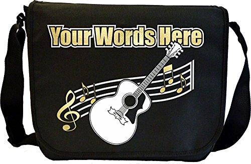 Acoustic Guitar Personalised Custom Sheet Music Accessories Bag MusicaliTee