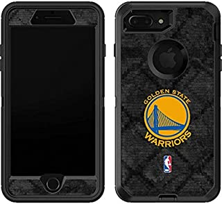 Skinit Decal Skin for OtterBox Defender iPhone 7 Plus - Officially Licensed NBA Golden State Warriors Dark Rust Design
