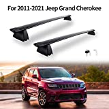 Cross Bars Roof Rack Compatible for 2011-2021 Jeep Grand Cherokee...