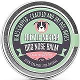 Nozzle Nectar Perro Bálsamo Nariz Alivia síntomas de la Nariz Seca para Perros
