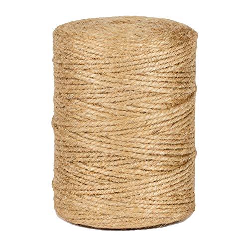 La cordeline CJN37 Rollo de Cuerda de Yute (200m)