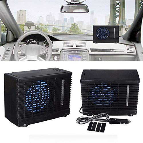 XD7 Draagbare airconditioning voor camper, boten, reizigers, 12 V airconditioning, autoventilator, oscillerende vrachtwagen, thuis, clip-on ventilator, zomer, auto, voertuig, luchtkoeler, koelapparaat