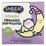 Smileat - Bolsitas Ecológicas de Infusión Pequeño Dormilón, Ingredientes Naturales, Para Bebés a Partir de los 6 Meses - Pack de 15 Bolsitas - 300ml