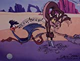 Great classic image from Chuck Jones. Fantastic Warner Bros. animated character artwork. Very affordable mini print ready to frame. Offered by Gremlin Fine Arts. One of the oldest Animation Art Sellers in the world. Custom Matted to 8 x 10 inches.