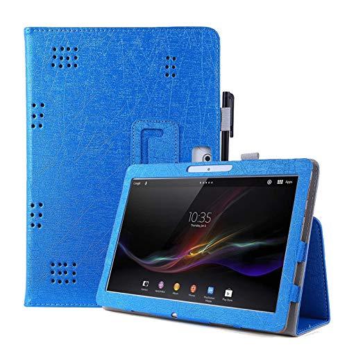 KATUMO Tablet 10 Universal Hülle für YOTOPT 10/ Yuntab 3G 10.1/ Lectrus 10.1/ Touch K10/ TYD 10/ TOSCIDO/Lnmbbs 10.1 Schutzhülle Leather PU Cover