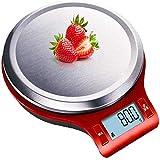 FLL Pesaje de Cocina, balanzas electrónicas Digitales, rombo de 5 kg, báscula de joyería de precisión Mini pesaje de Alimentos 0.1g Báscula de Cocina Báscula de Alimentos Básculas de Cocina de a