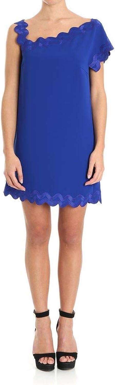 Versace Collection Women's G35360G601411G1343 bluee Polyester Dress