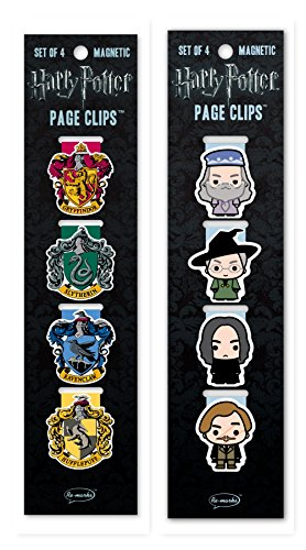Re-marks Harry Potter Professors and Crests Page Clip 2 Pack