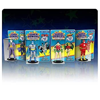DC Super Powers Batman Robin Joker Flash Micro Action Figures Wave 1 Set of 4