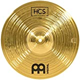 """Meinl Cymbals 12"""" Splash Cymbal – HCS Traditional Finish Brass for Drum Set, Made In Germany, 2-YEAR WARRANTY, (HCS12S)"""