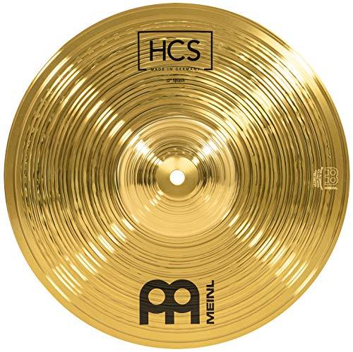 Meinl Cymbals HCS 12 Zoll (30,48cm) Splash Becken für Schlagzeug – Messing, traditionelles Finish (HCS12S)
