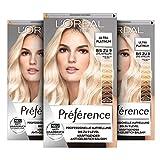 L'Oréal Paris Préférence Ultra Helles Platinblond 3er Pack(3 x 191 g)