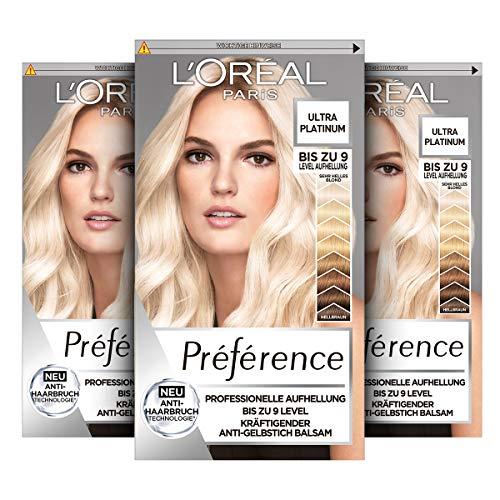 L'Oréal Paris Préférence, Ultra Helles Platinblond