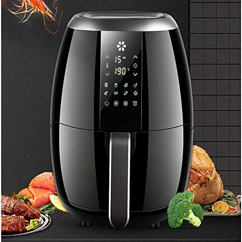 Buy Discount Air Fryer Oven Oil-Free Healthy Fryer Electric Hot Air Fryer 3.5L/1270W LED Digital Tou...