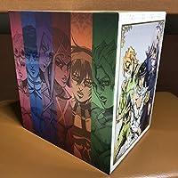 ジョジョの奇妙な冒険 黄金の風 初回版全10巻セット アニメイト 全巻購入特典 全巻収納ボックス付き BOX