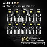 B-Creative, lampadine per Targa Auto T10 Senza errori, allo Xeno, W5 W, 501, Colore Bianco