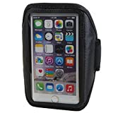 andyhandyshop Sportarmband Fitnesstasche für Jiayu S3 Advanced , Neopren, schwarz, 170 x 95 x 12mm